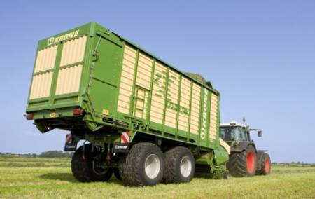 Krone Dual Purpose Forage Wagon ZX